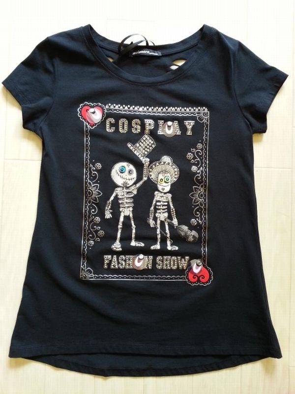 ドクロTシャツ1