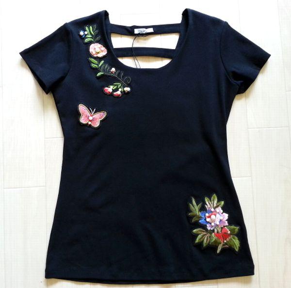刺繍Tシャツ1