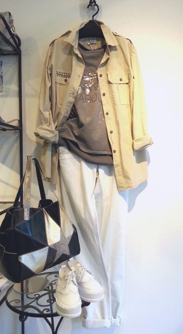 リナシメントJコットンシャツ1