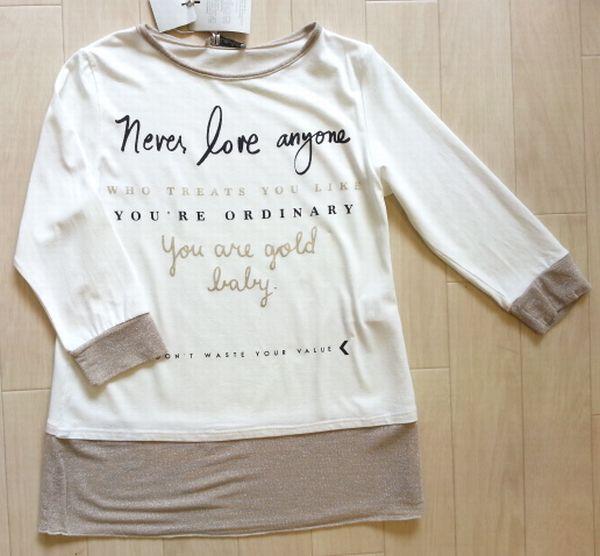 七分袖Tシャツ2