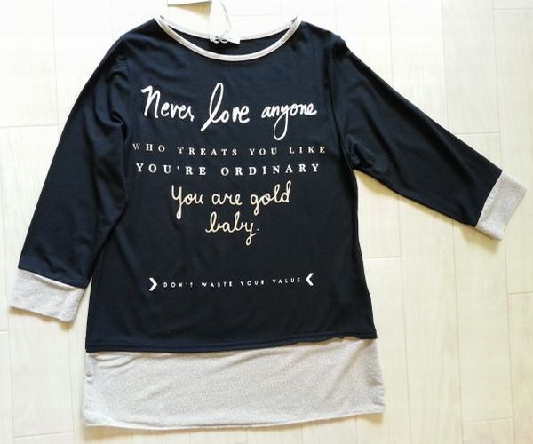 七分袖Tシャツ6