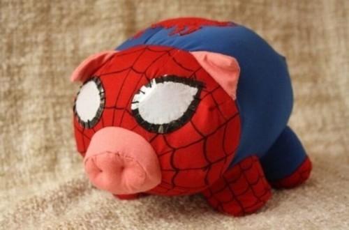 スパイダー豚