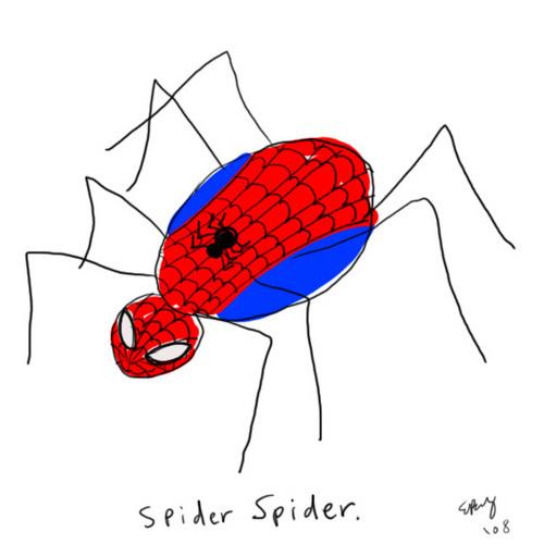 スパイダー蜘蛛