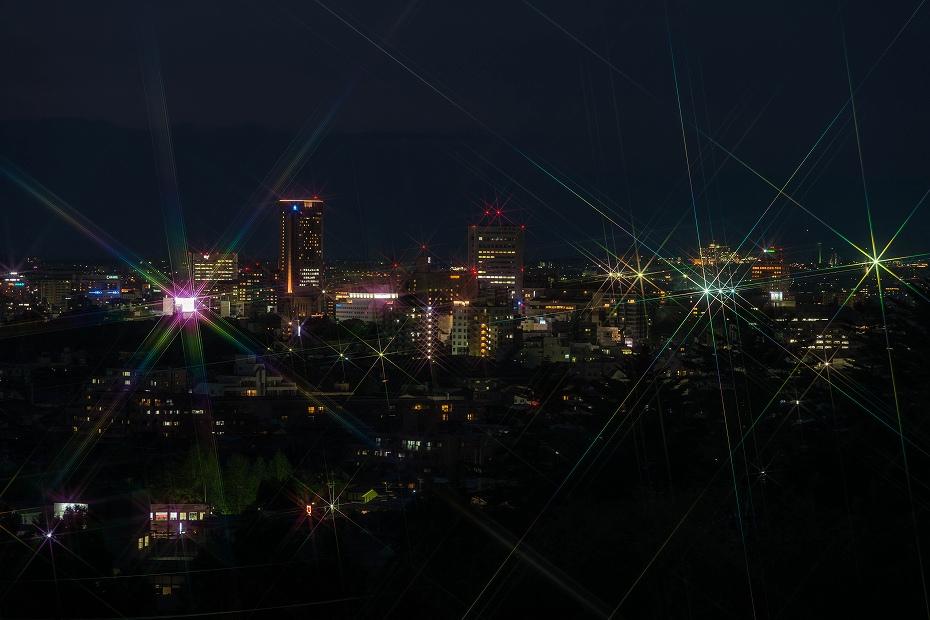 2017.04.27大乗寺丘陵公園の夕景5