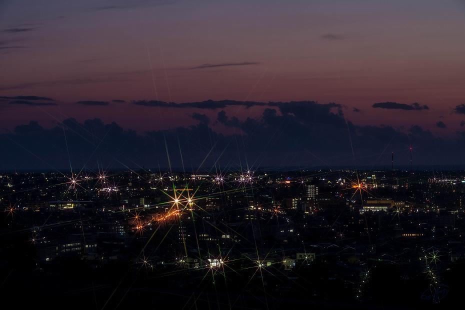 2017.04.27大乗寺丘陵公園の夕景4