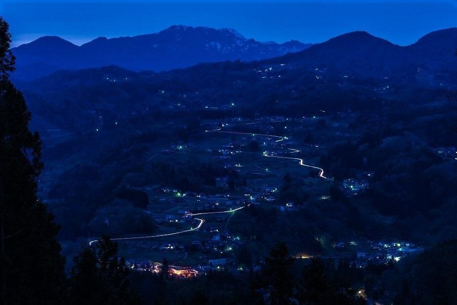 2017.05.03小川村からの夕景6