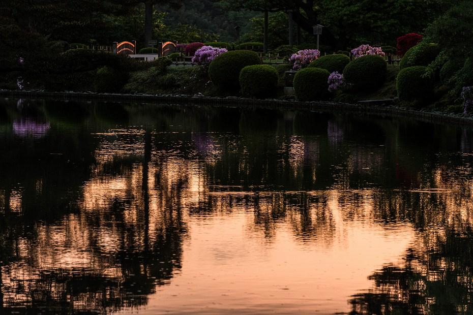 2017.05.14春の兼六園の朝景3