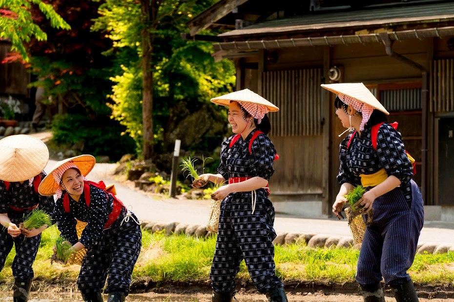 2017.05.29白川郷の田植え祭り21