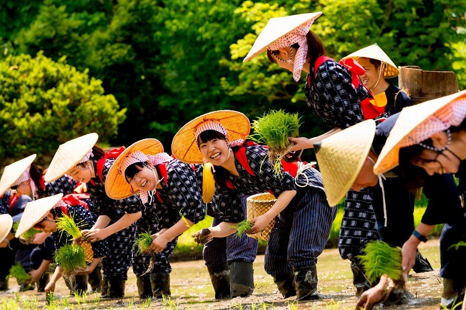 2017.05.29白川郷の田植え祭り9