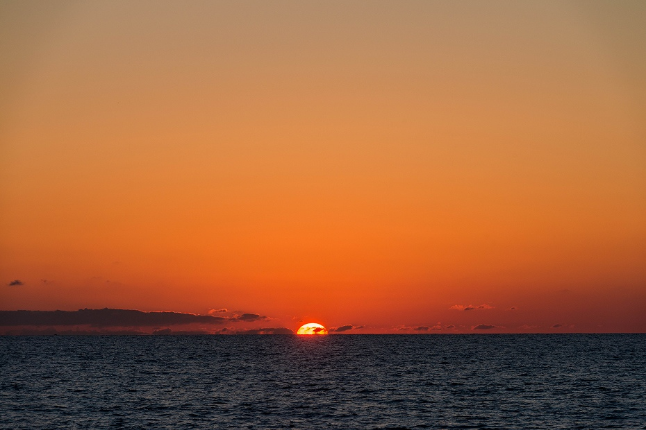2017.06.05内灘海岸日の入り1