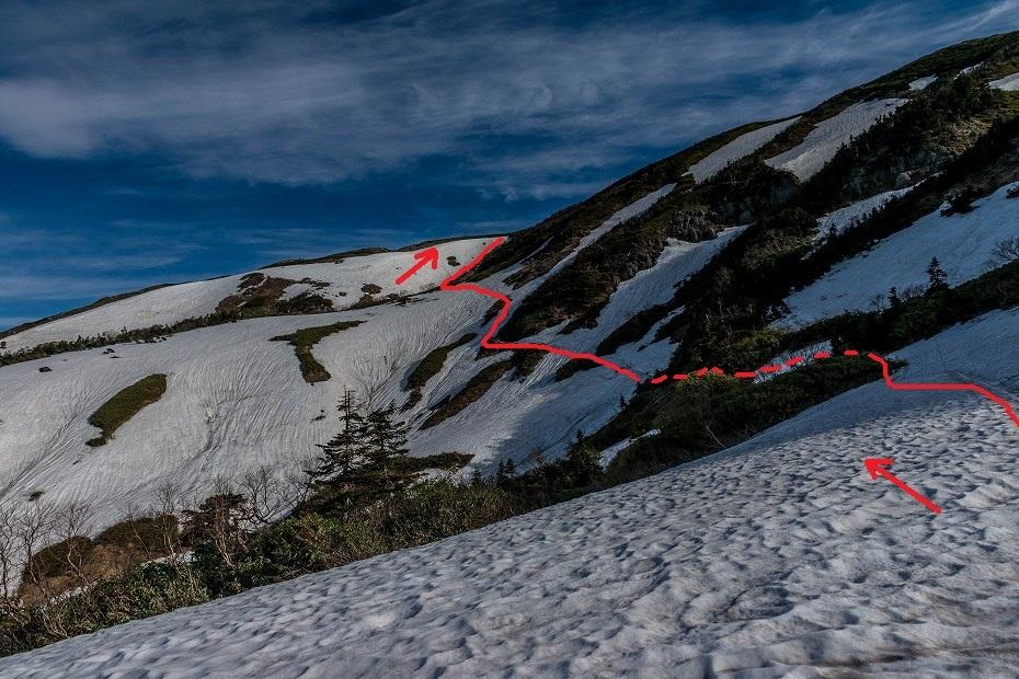2017.06.09残雪の白山へ4