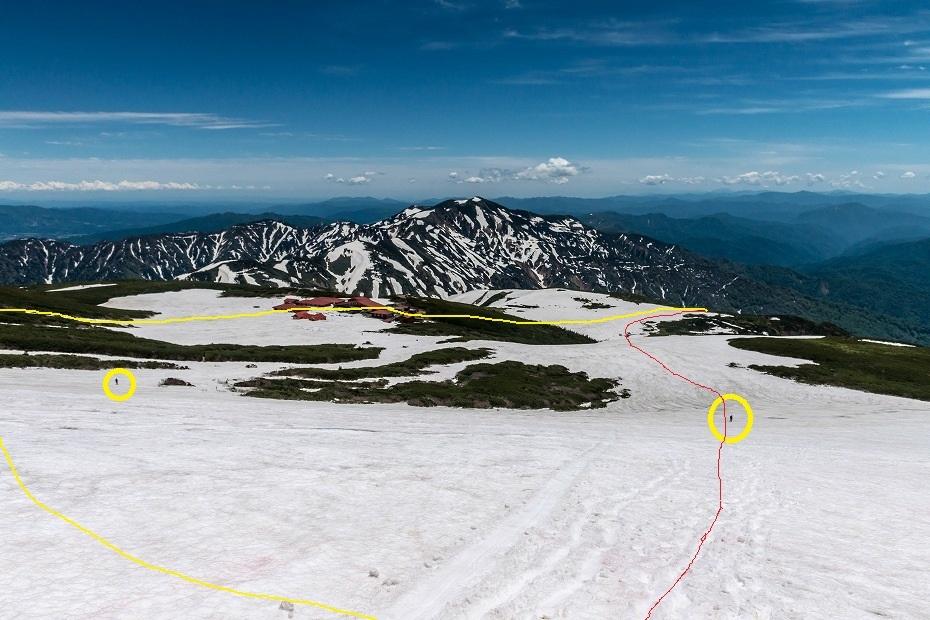 2017.06.09残雪の白山へ38