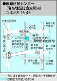 麻布区民センター 地図