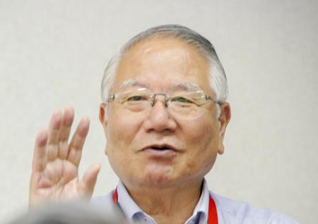 和田理事長の参観