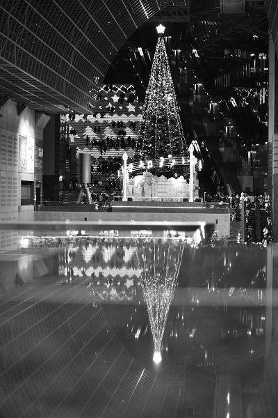 JPG京都クリスマスモノクロ