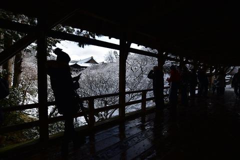 3東福寺雪