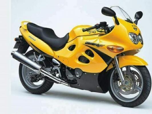 Suzuki GSX 600 F Katana 97