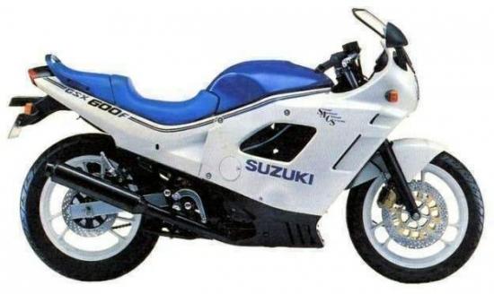 SUZUKI GSX 600 F 88 1