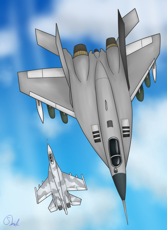 MiG-29 Su-27 170331