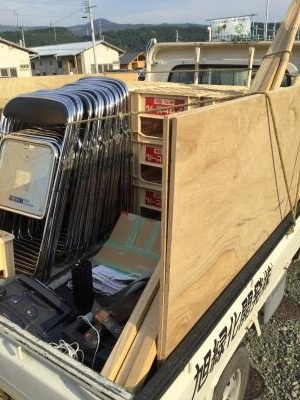 熊本仮設トラック400