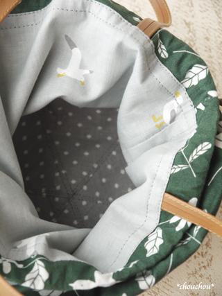 ストローハット巾着8