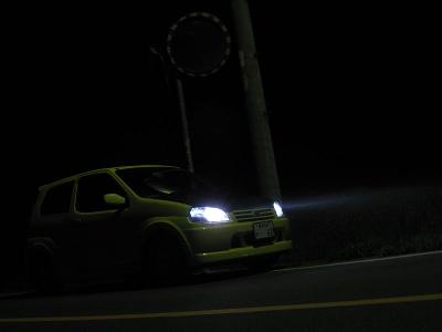 車  テールランプ