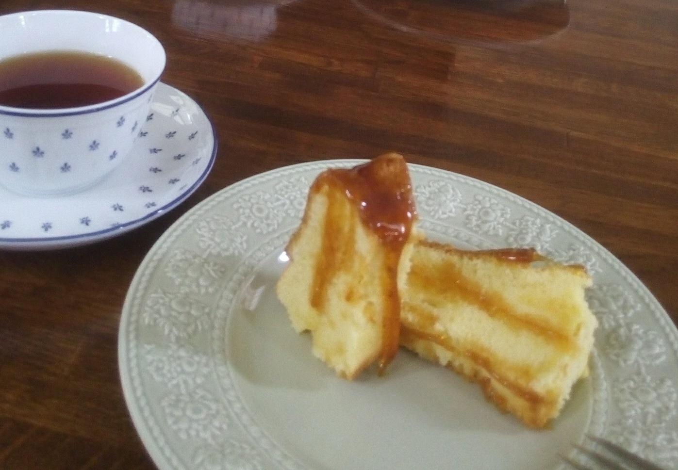 お砂糖のケーキ