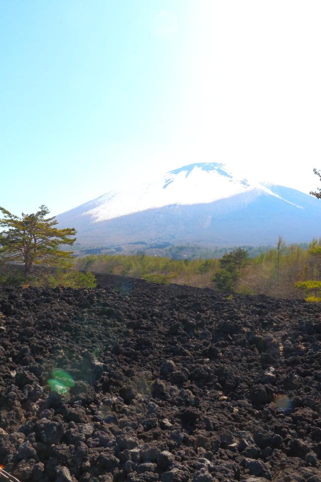 焼き走り溶岩1