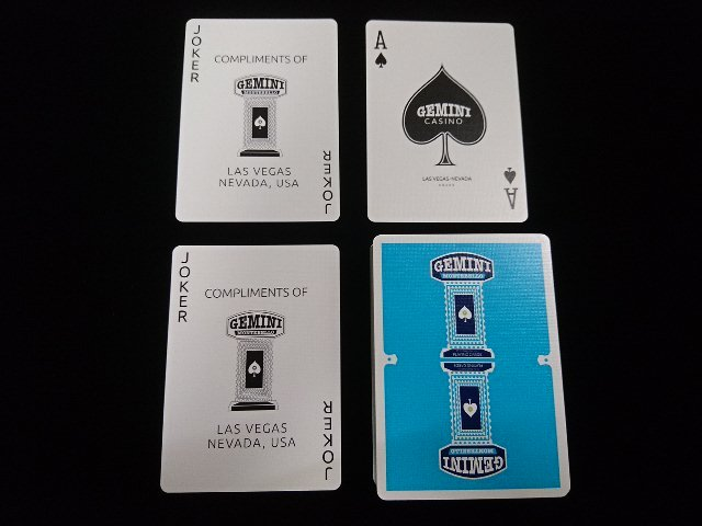 GEMINI CASINO Playing Cards (5b)