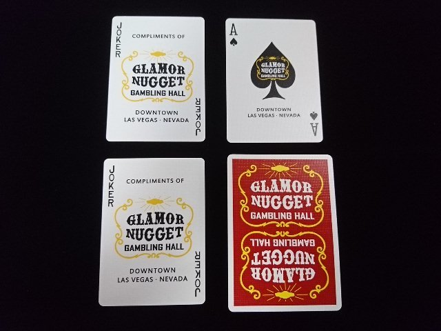 Glamor Nugget Limited Edition Playing Cards (4)