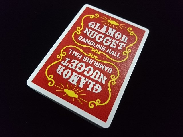 Glamor Nugget Limited Edition Playing Cards (2a)