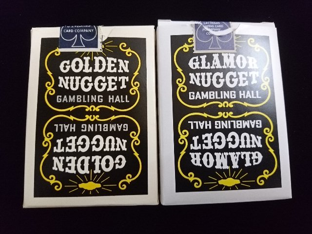 Golden Nugget Black Glamor Nugget Limited Edition Playing Cards (1)