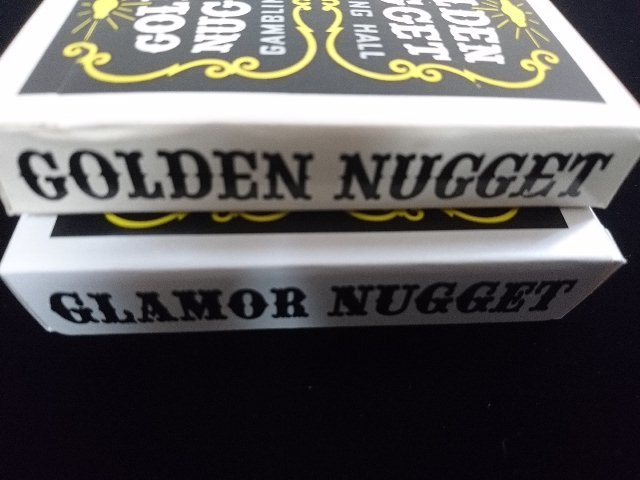 Golden Nugget Black Glamor Nugget Limited Edition Playing Cards (3)