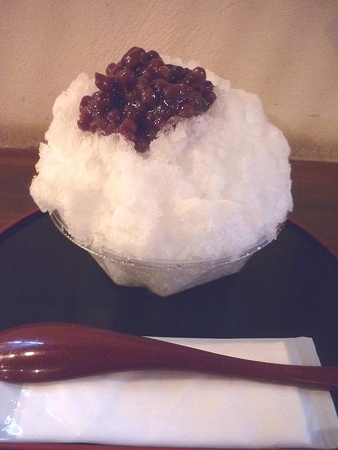 大阪浪花家 氷あずき