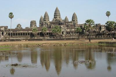 風景 カンボジアアンコールワット
