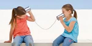 風景 会話 糸電話