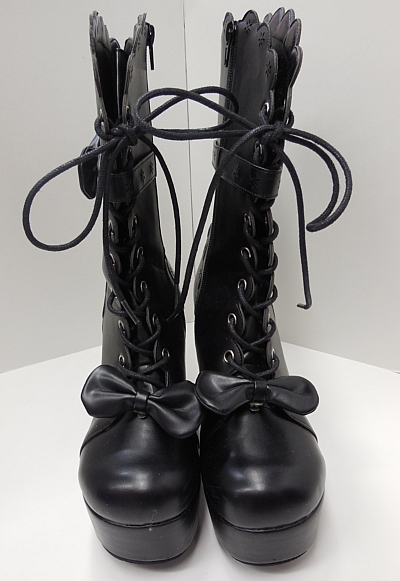 ブーツショート黒2