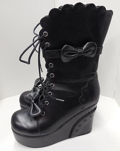 ブーツショート黒3