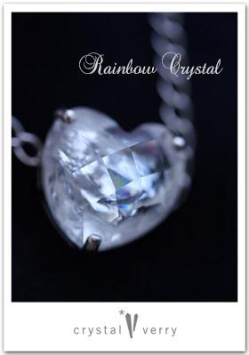 rainbow レインボー水晶 チェーンブレスレット