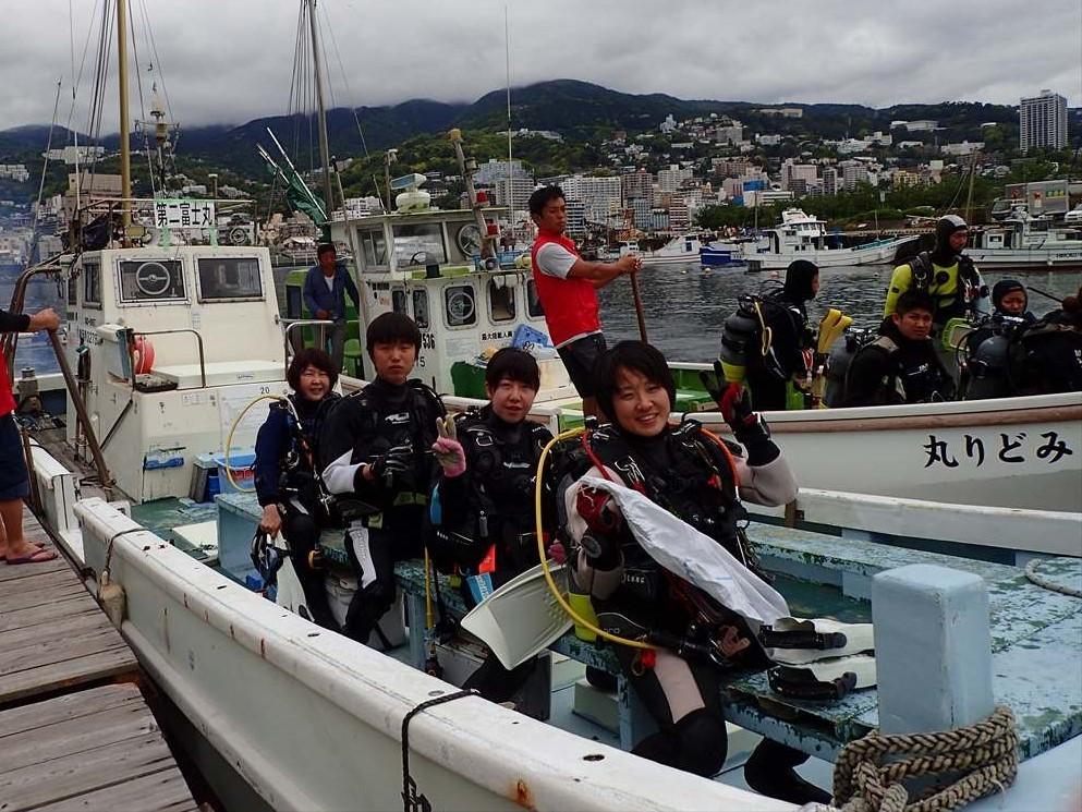 熱海白井ダイビング (1)
