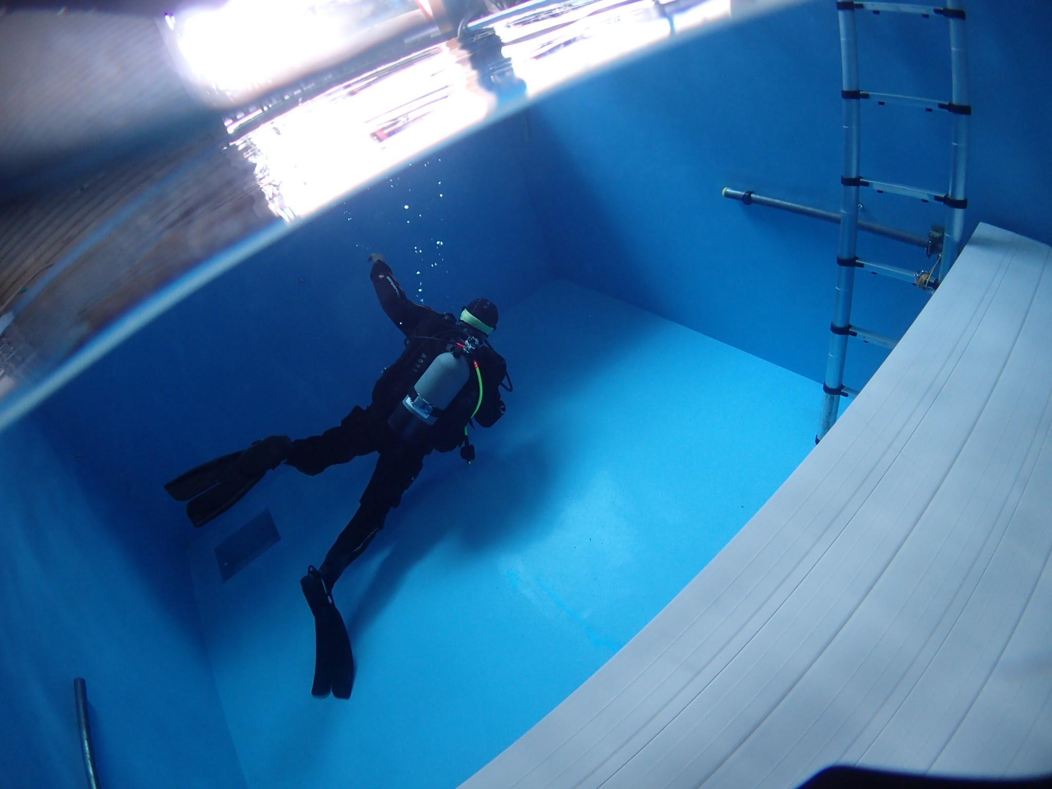 千葉県ダイビングプール