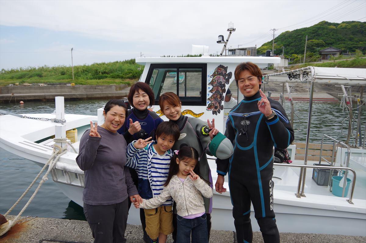 西川名風景ダイビング (1)