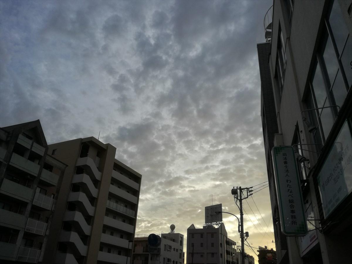 夕方の空、キレイだなぁー (1)_R