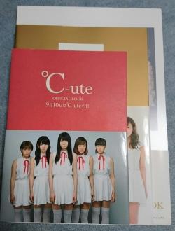 ℃-uteラストオフィシャルブック大きさ比較02