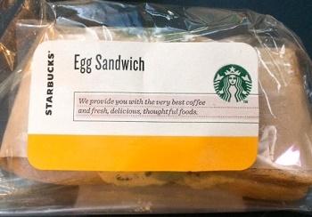 エッグサンドイッチスタバ