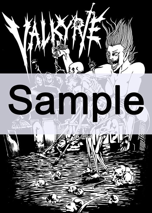 VALKYRIE非売品Tシャツサンプル画像(四角)