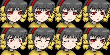 ボニーちゃん 顔グラ2