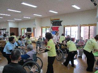 車椅子レクダンス2