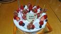 母の日ケーキ 20170514