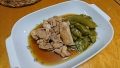 鶏肉とエンドウ豆の炊いたん 20170622